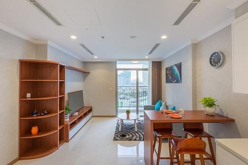 Tận hưởng cuộc sống sang trọng trong căn hộ của tổ hợp Vinhomes 3