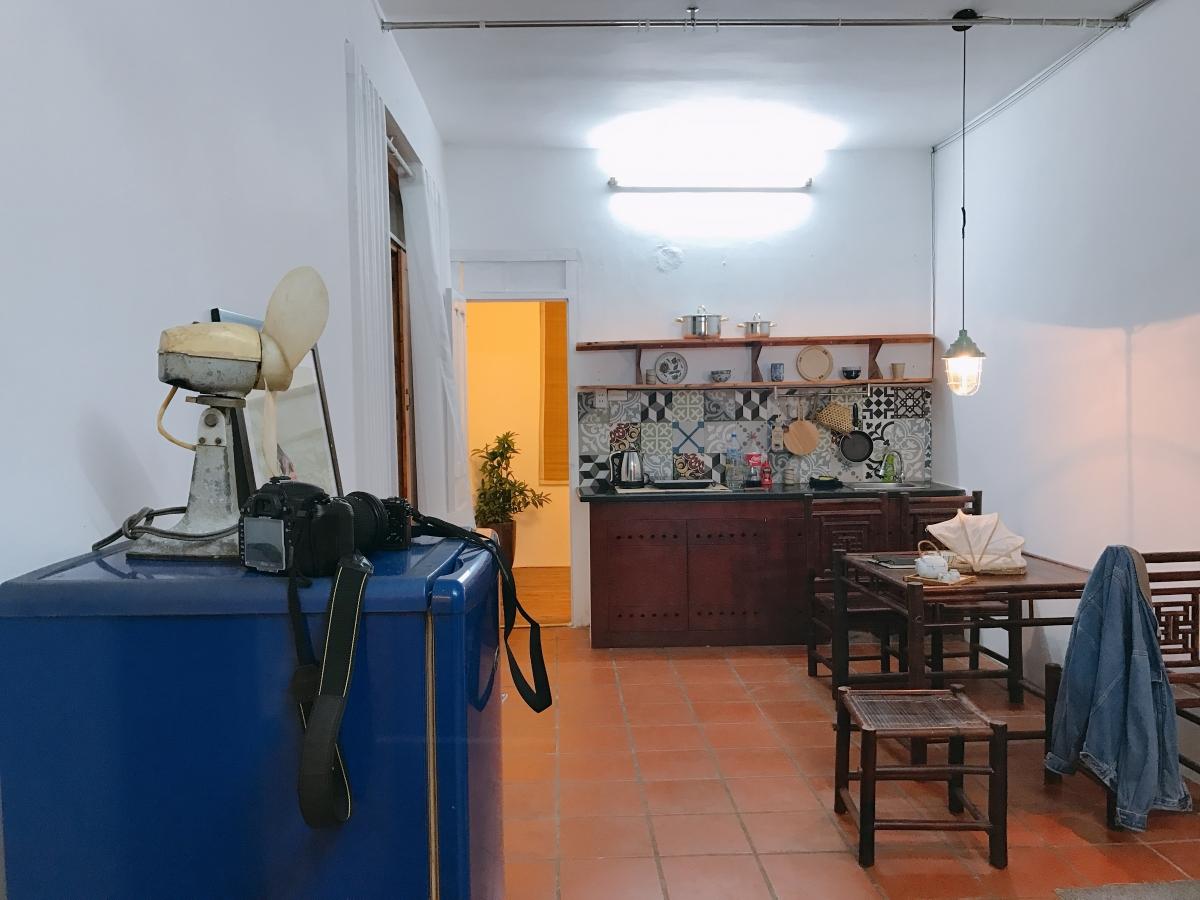 Khám phá căn hộ ấm cúng ngay trong chung cư cổ 2