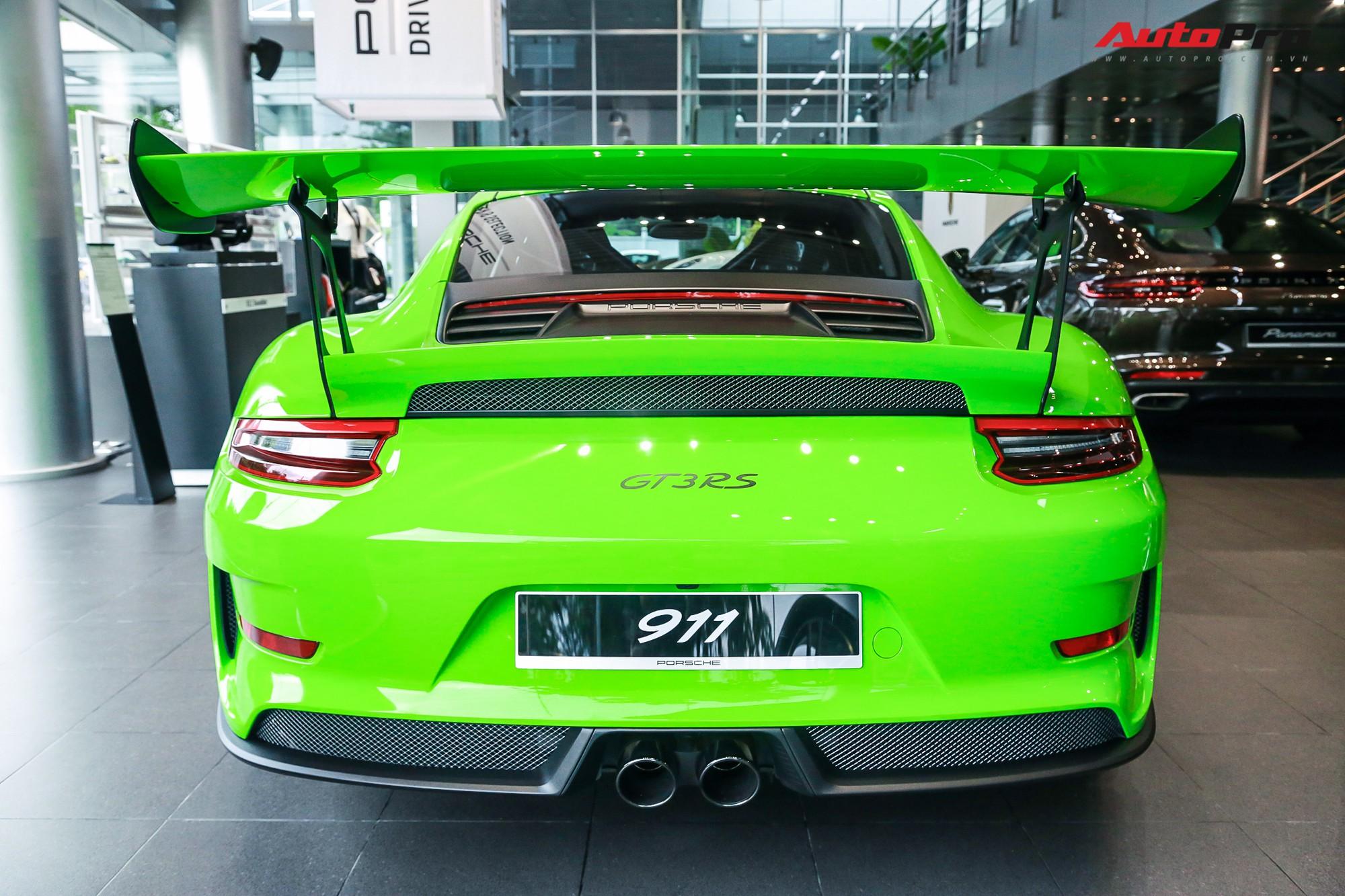 Cận cảnh siêu xe Porsche 911 giá gần 14 tỷ đồng vừa xuất hiện tại Hà Nội  - Ảnh 2