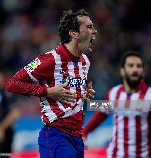 "Trung vệ Atletico Madrid Diego Godin khiến MU ""vỡ mộng""    - ảnh 1"