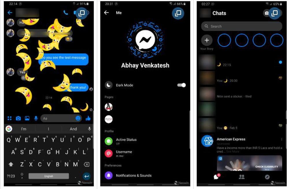 Facebook đưa chế độ Dark Mode đến toàn bộ người dùng Messenger - ảnh 1