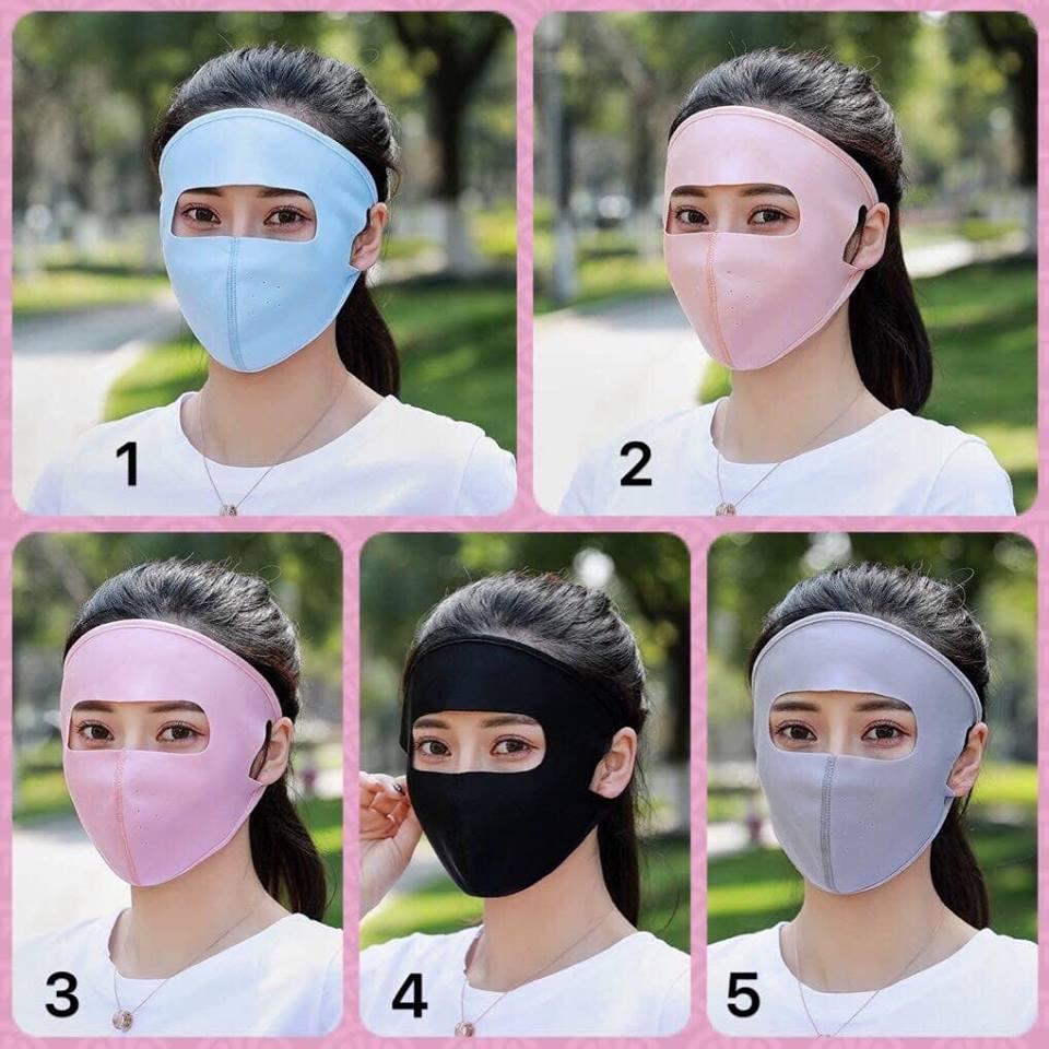 """""""Khẩu trang ninja"""" hở 2 con mắt khiến hội chị em sốt sắng tìm mua để đối phó mùa hè 2019 - Ảnh 1"""