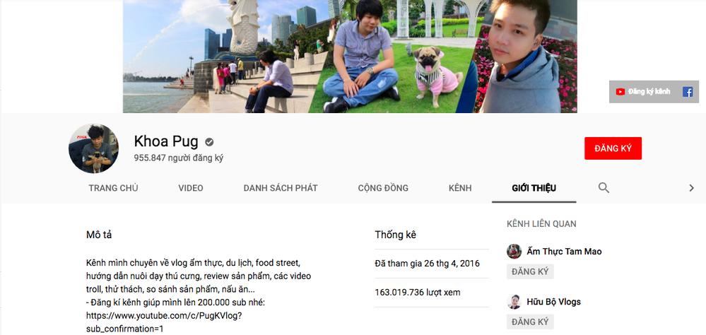 Chủ nhân của tài khoản YouTuber Khoa Pug khiến cộng đồng mạng xôn xao là ai? - Ảnh 2