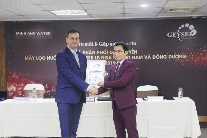 Đại lý Tiến Thành Water bán máy lọc nước Nano Geyser chính hãng - ảnh 1