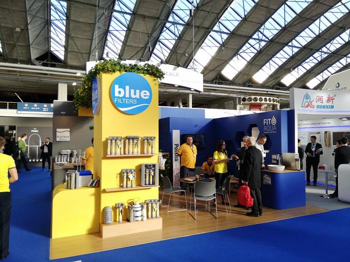 Máy lọc nước ion canxi BlueFilters tham gia Hội chợ lớn nhất thế giới Aquatech Hà Lan 2019  - ảnh 1