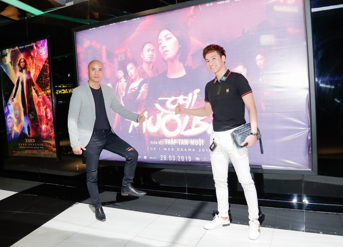 """Chu Bin & A Tuân hào hứng ủng hộ phim """"Chị 13"""" của vợ chồng Thu Trang - Tiến Luật - Ảnh 1"""