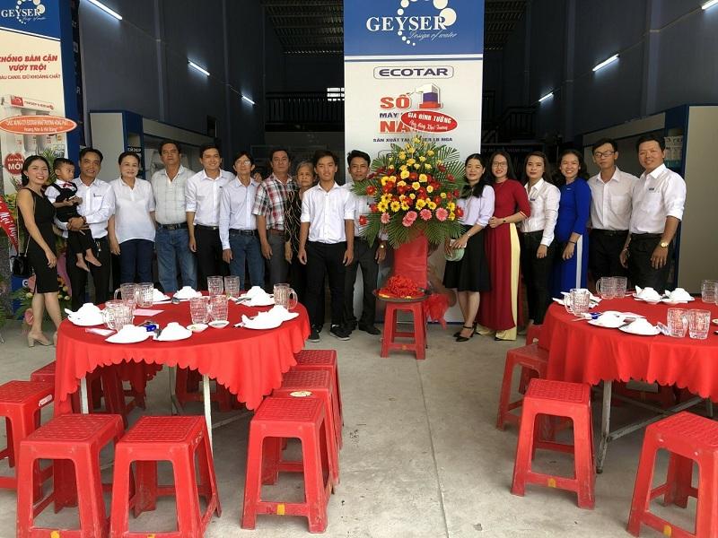 Khuyến mãi mừng khai trương showroom ủy quyền máy lọc nước Geyser Trà Vinh - Ảnh 2