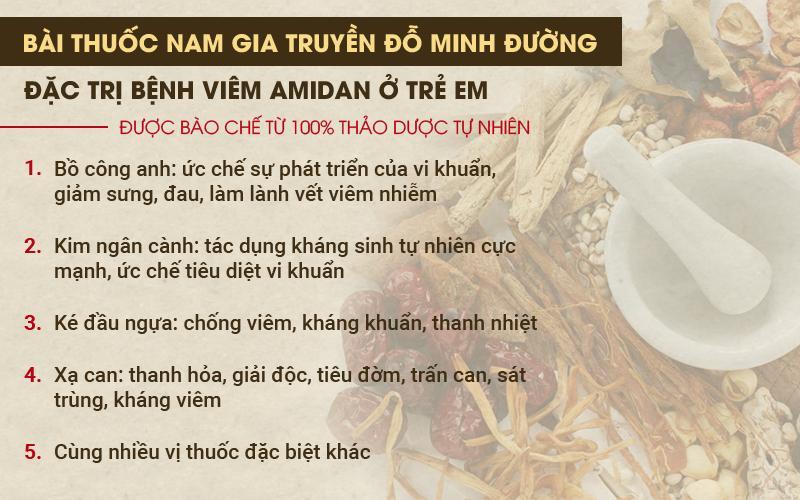 Chữa viêm amidan ở trẻ em tại nhà thuốc Đỗ Minh Đường: Không kháng sinh – không cần cắt bỏ  - Ảnh 3