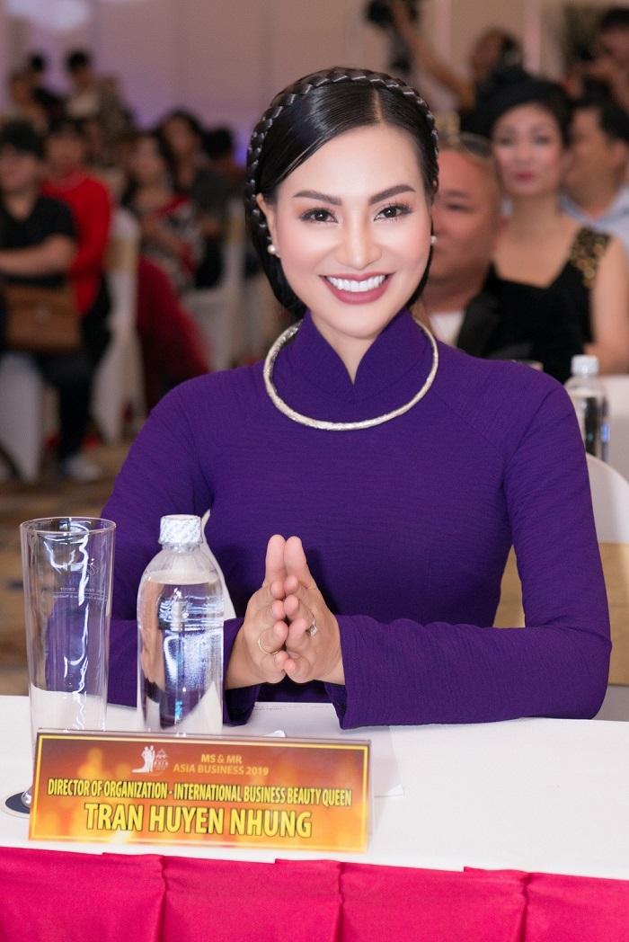 Gặp gỡ báo chí công bố dự án Ms & Mr Asia Business 2019 của Nhung Tran Media - Ảnh 1