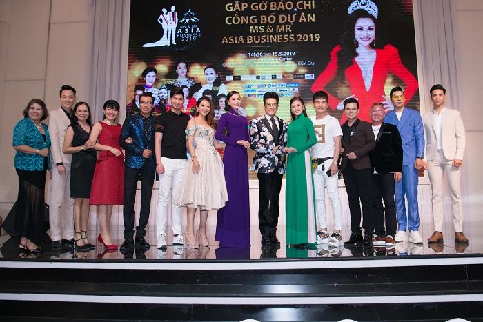 Gặp gỡ báo chí công bố dự án Ms & Mr Asia Business 2019 của Nhung Tran Media - Ảnh 4
