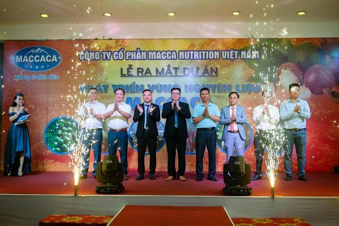 Công ty Macca Nutrition công bố Dự án phát triển nguồn nguyên liệu Maccaca - Ảnh 1