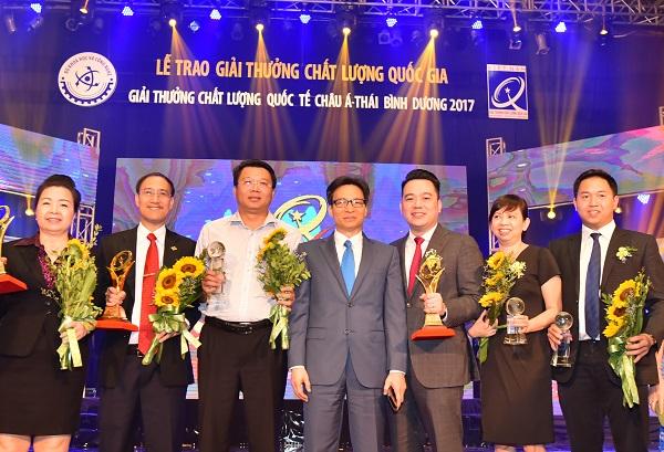 Tập đoàn Tân Á Đại Thành nhận giải thưởng Chất lượng Quốc tế Châu Á – Thái Bình Dương 2019 - ảnh 1