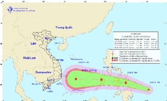 Xuất hiện cơn bão mới, hướng thẳng vào Nam Trung Bộ - ảnh 1