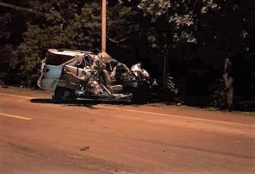 Hiện trường vụ tai nạn thảm khốc khiến 3 người phụ nữ tử nạn thương tâm - Ảnh 1