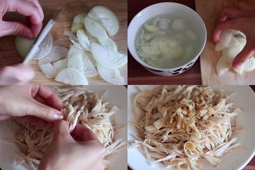 Món ngon mỗi ngày: Gỏi gà xé phay hấp dẫn cho bữa tối - Ảnh 1