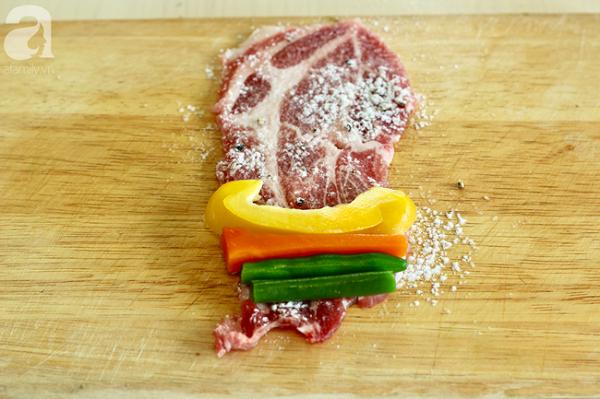 Có món thịt cuộn rau củ này, không cần tập luyện vẫn có được vòng eo Ngọc Trinh - ảnh 1