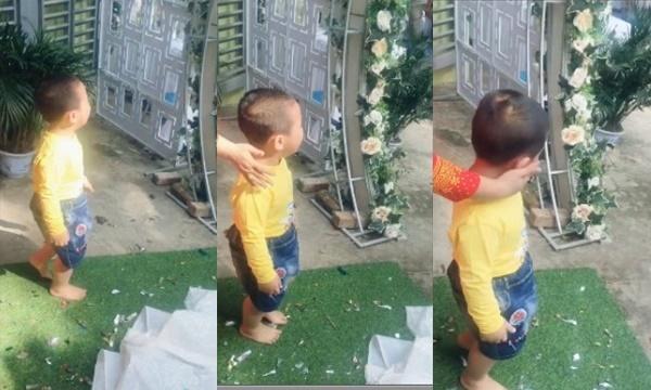 """Em trai 3 tuổi """"khóc hết nước mắt"""" đòi theo chị gái về nhà chồng gây sốt mạng xã hội - ảnh 1"""