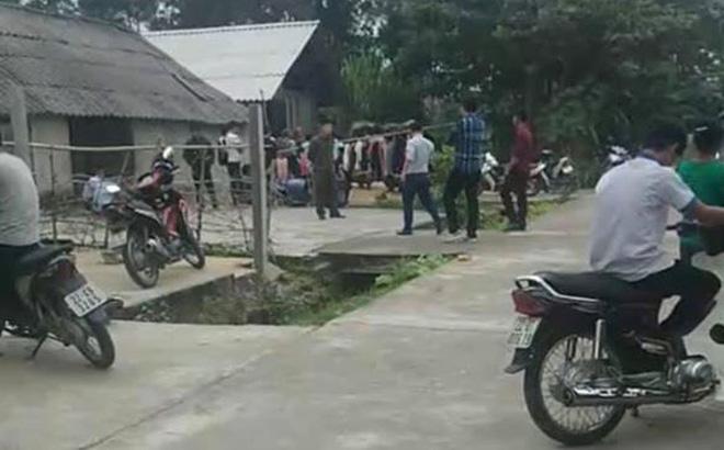 Vụ 3 cha con treo cổ tự tử ở Tuyên Quang: Rùng mình dòng chữ lạ ở hiện trường - ảnh 1