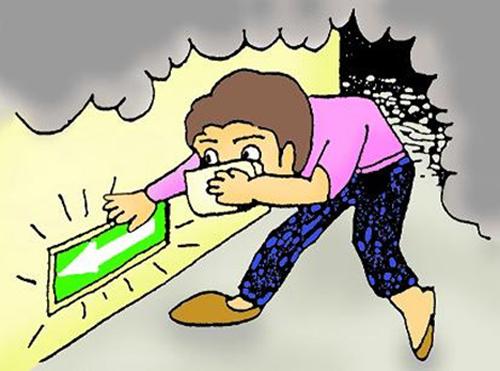 Chuyên gia mách bạn 9 nguyên tắc sống còn giúp thoát khỏi đám cháy nhanh chóng - Ảnh 4