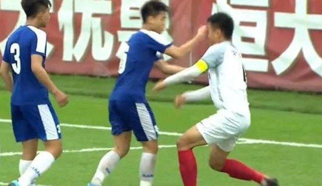 LĐBĐ Việt Nam lên tiếng về cầu thủ U17 Hà Nội đấm thẳng mặt đối thủ - Ảnh 1
