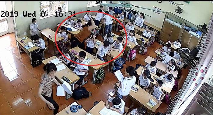Vụ cô giáo đánh tới tấp vào đầu học sinh lớp 2 ở Hải Phòng: Ban giám hiệu nói gì? - Ảnh 3