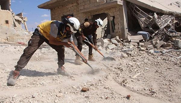 Nga cáo buộc Mũ bảo hiểm Trắng bắt 22 trẻ em Syria để dàn dựng vụ tấn công vũ khí hóa học - ảnh 1