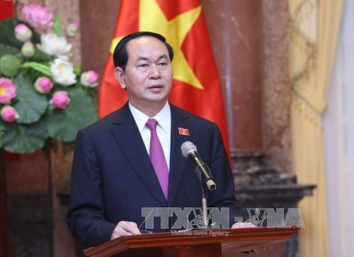 Chủ tịch nước Trần Đại Quang gửi thư chúc Tết Trung thu cho các cháu thiếu nhi - ảnh 1