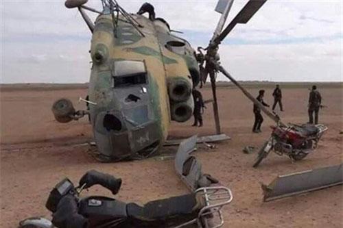 Tin tức quân sự mới nóng nhất ngày 26/11: Trực thăng quân đội Syria gặp nạn khi thực chiến - ảnh 1