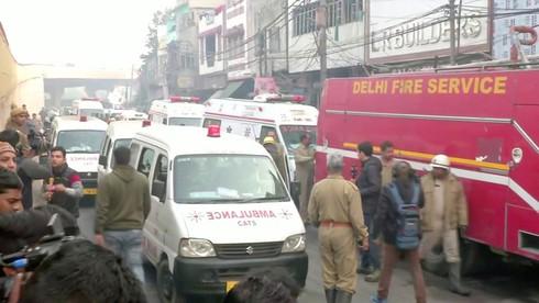 Hỏa hoạn kinh hoàng tại nhà máy Ấn Độ, ít nhất 43 người chết - ảnh 1