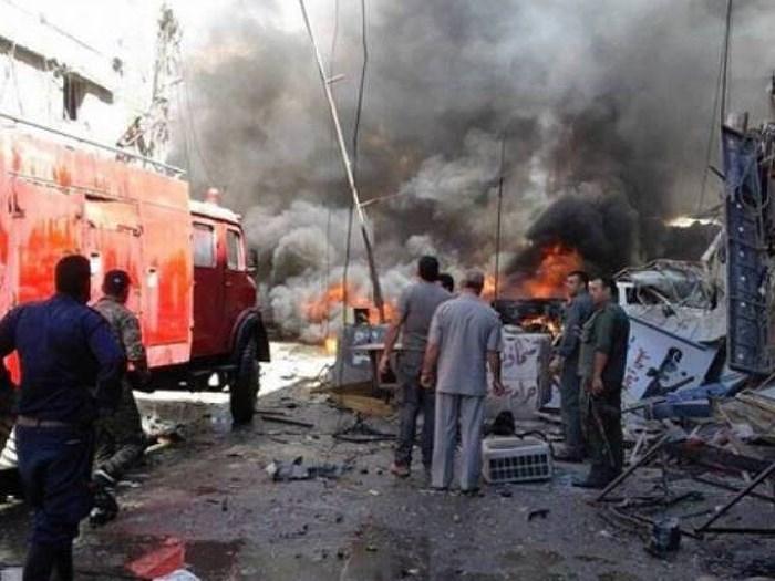 Syria: Phiến quân đánh bom tự sát nhằm vào đồn quân sự, nhiều binh sĩ thiệt mạng - Ảnh 1