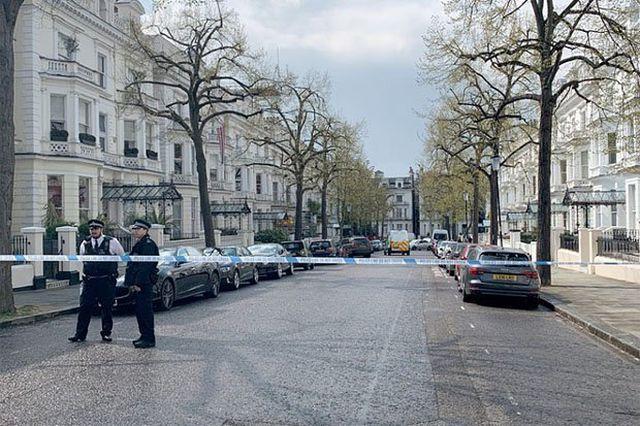 Cảnh sát Anh nổ súng bắt nghi phạm đâm liên tiếp vào xe của đại sứ Ukraine - Ảnh 2