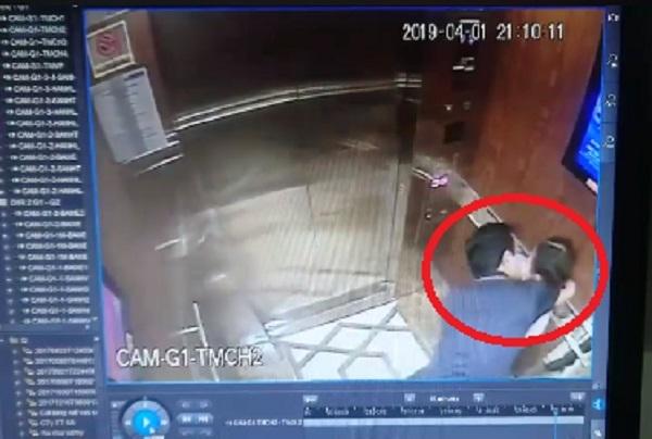 Truy tìm người đàn ông nghi sàm sỡ bé gái trong thang máy ở TP.HCM - Ảnh 1