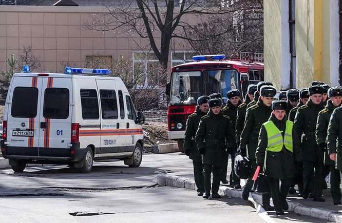 Nổ lớn tại học viện quân sự quy mô lớn tại Nga, nhiều người bị thương - Ảnh 3