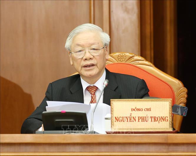Thư của Tổng Bí thư, Chủ tịch nước nhân Ngày truyền thống phòng, chống thiên tai - ảnh 1