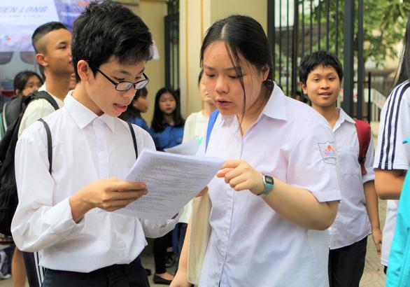 Lịch thi và quy chế mới nhất về kỳ tuyển sinh vào lớp 10 tại Hà Nội - ảnh 1