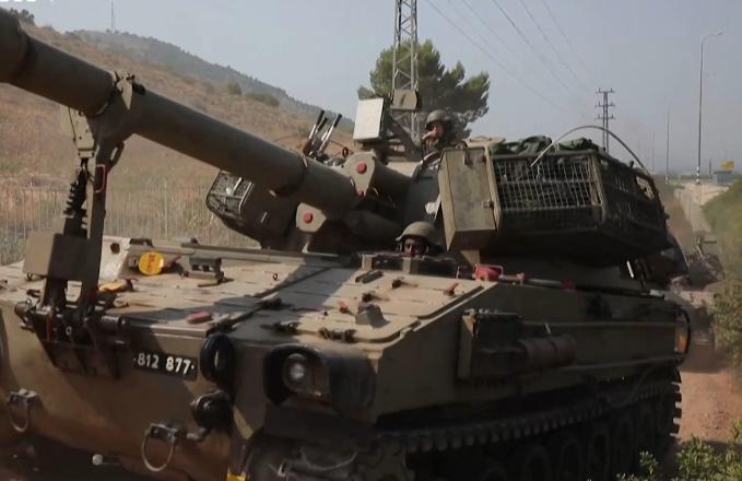 Tin tức quân sự mới nóng nhất ngày 27/7: Israel điều pháo tầm xa và xe bọc thép tới biên giới với Liban - ảnh 1