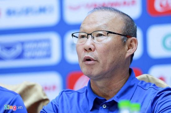 """HLV Park Hang Seo: """"AFF không còn bị giới hạn về lứa tuổi để chọn lựa cầu thủ"""" - ảnh 1"""