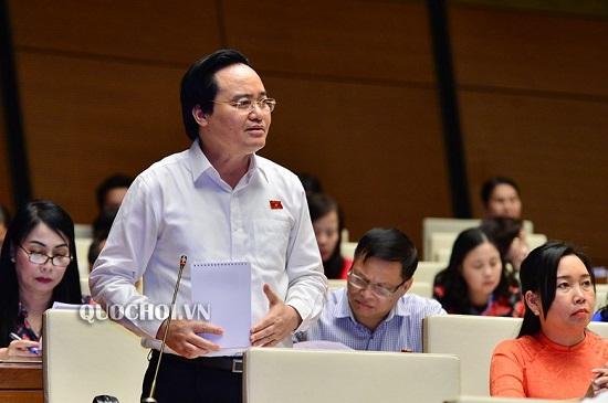 """Bộ trưởng Phùng Xuân Nhạ """"kêu cứu"""" tại nghị trường Quốc hội - ảnh 1"""