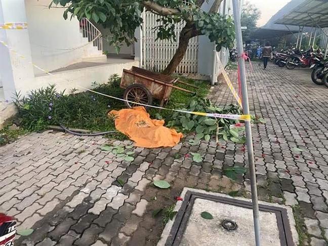 Bình Dương: Phát hiện thi thể người đàn ông dưới sân chung cư - ảnh 1