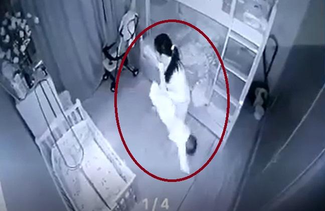 Lời trần tình tiết lộ lý do khiến nữ giúp việc cầm chân bé gái 1 tuổi dốc ngược - ảnh 1
