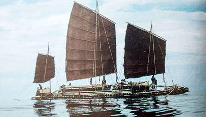 """""""Thánh phượt"""" người Việt đầu tiên can đảm vượt Thái Bình Dương bằng bè tre - Ảnh 1"""