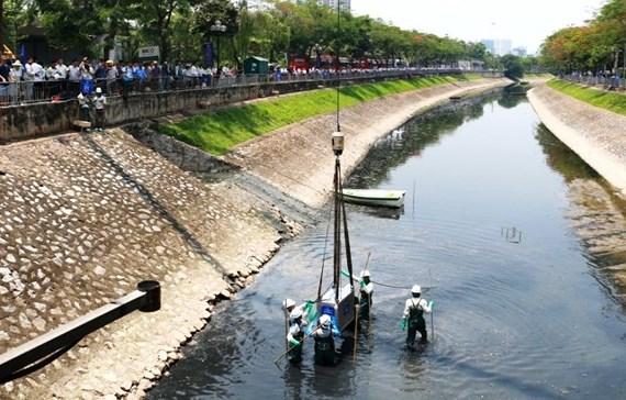 Hà Nội: Khởi động dự án làm sạch sông Tô Lịch bằng công nghệ Nhật Bản - Ảnh 1