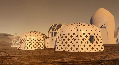 NASA công bố 3 thiết kế hàng đầu cho ngôi nhà lý tưởng trên sao Hỏa - Ảnh 1