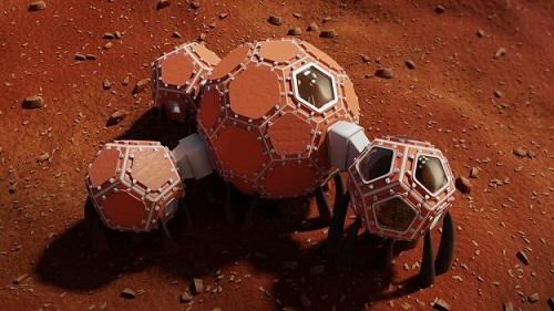 NASA công bố 3 thiết kế hàng đầu cho ngôi nhà lý tưởng trên sao Hỏa - Ảnh 2