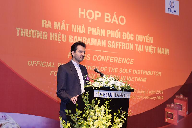 Ra mắt nhà phân phối độc quyền thương hiệu Nhụy hoa Nghệ Tây Baharaman tại Việt Nam - ảnh 1