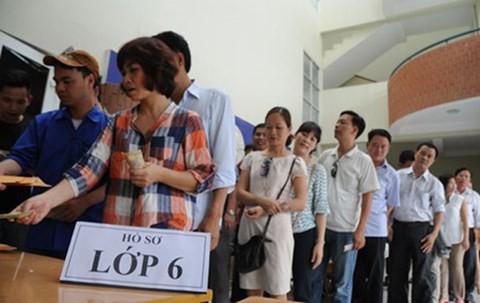 Năm học 2019 - 2020: Tuyển sinh trực tuyến tại Hà Nội sẽ thực hiện thế nào? - Ảnh 1
