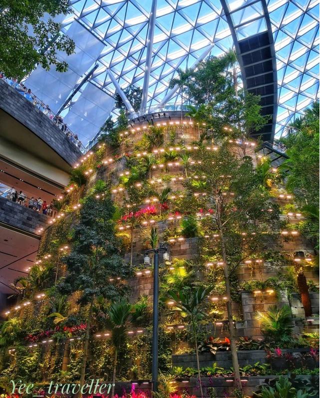 Mô hình sân bay công viên sinh thái Jawel Changi tại Singapore - Ảnh 5