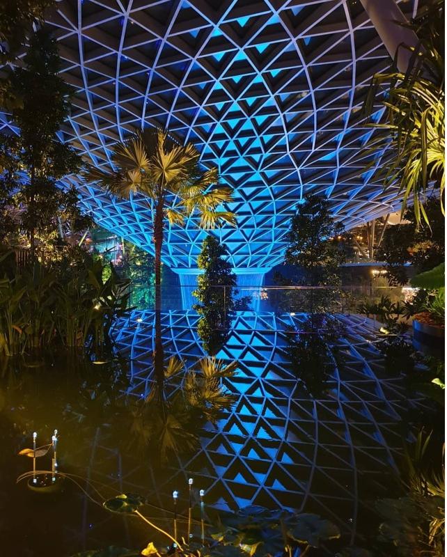 Mô hình sân bay công viên sinh thái Jawel Changi tại Singapore - Ảnh 6