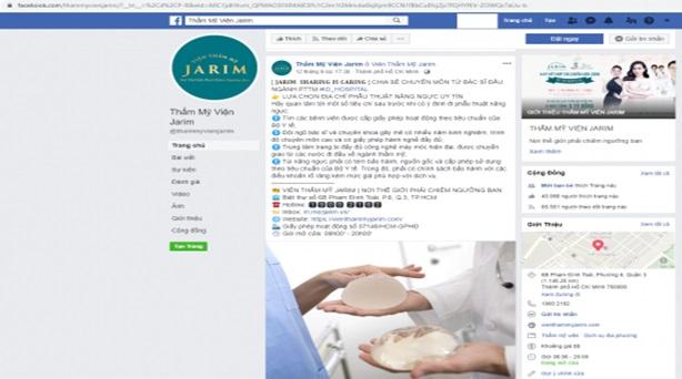 Thẩm mỹ viện Jarim quảng cáo dịch vụ không phép, lừa dối khách hàng? - ảnh 1