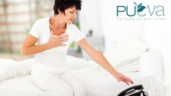 Dấu hiệu tiền mãn kinh nguy cơ bệnh tim mạch  - ảnh 1